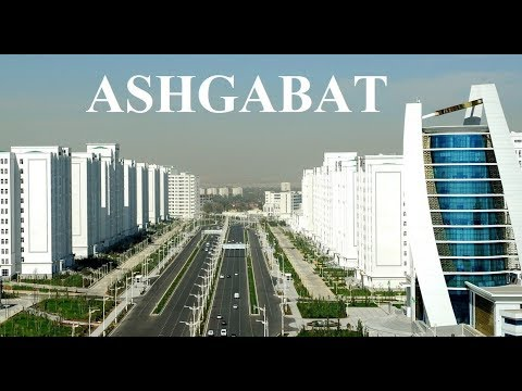 Turkmenistan-Ashgabat: Wide Empty Boulevards Part 4