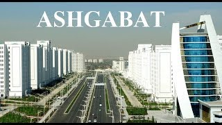 Turkmenistan-Ashgabat: Wide Empty Boulevards Part 4