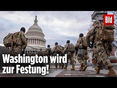 Joe Biden: Washington wird vor Amtseinführung zur Hochsicherheits-Festung