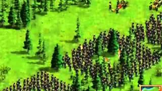 Как играть в American Conquest по интернету ? Сыылка под видео !