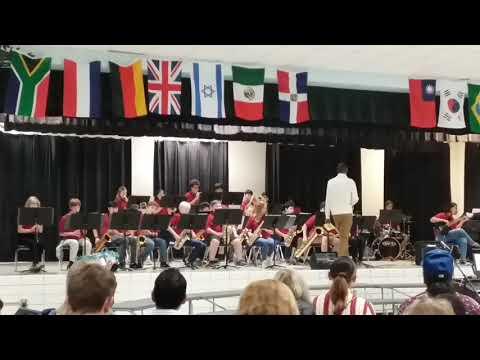 Druid Hills Middle School jazz band