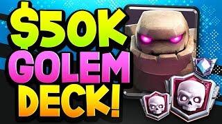 This GOLEM DECK won him $50,000! EASY & POWERFUL!