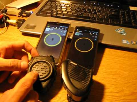 Zello PTT Bluetooth speaker micropnone Rexon BT-28HC (BT-1557) versus Savox BRT-155 review