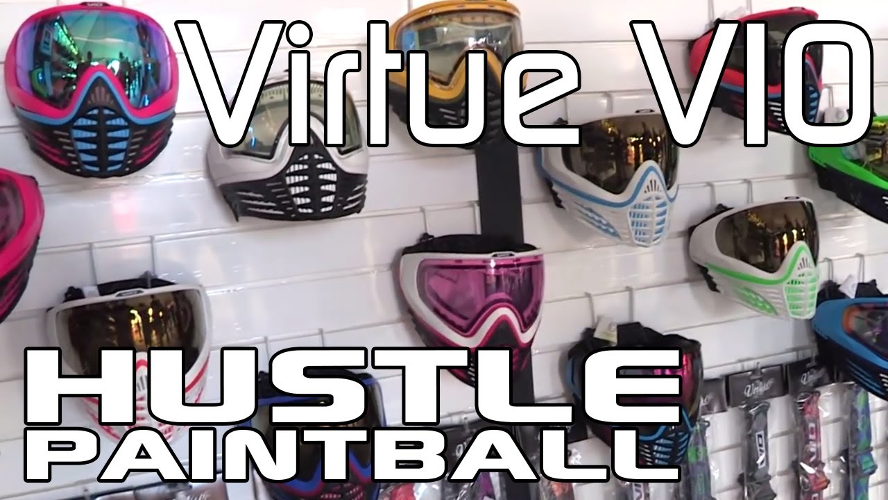 Virtue Vio Paintball Goggle System First Look Direct from PSP World Cup
