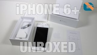 Apple iPhone 6 Plus Silver Unboxing & First Look in 4K