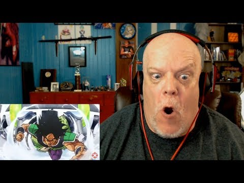 THE BROLY MOVIE TRAILER! - Reaction Video - I Am So Hyped!