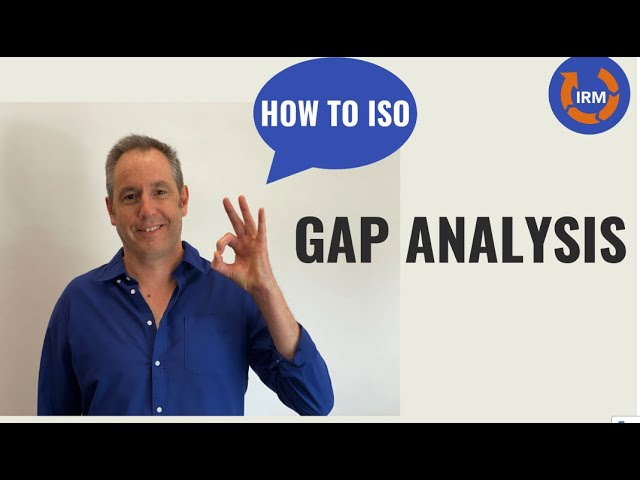 How to ISO - Week 4 - Gap Analysis