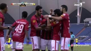 هدف الرائد الأول ضد النصر (إسماعيل بانغورا) في الجولة 8 من دوري جميل