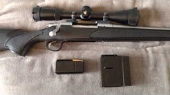 Kwik Klip magazine conversion kit on a Remington 700