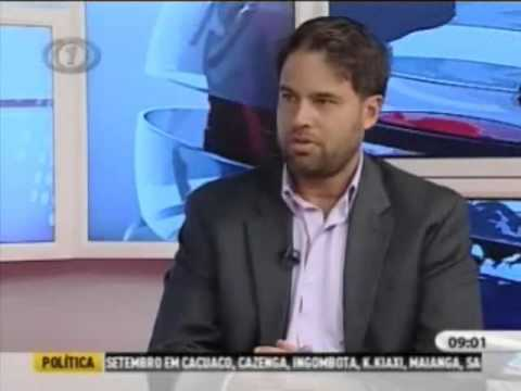 Arick Wierson speaks about Luanda Fashion Center on Angolan State Television Network TPA