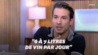 """Dans """"C à vous"""", Jérémy Ferrari se confie sur son """"alcoolisme noir"""" et ses troubles du comportement"""