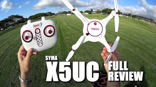 SYMA X5UC Camera Drone – Full Review – [UnBoxing, Inspection, Setup, Flight Test, Pros & Cons]