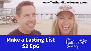 Intimacy Journey S2: E6   To Find the One   Make A Lasting List