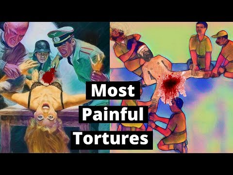 5 Most Painful Torture Techniques Ever | Most Brutal Ways To Be Tortured
