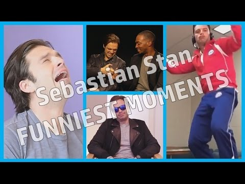 Sebastian Stan  Funniest Moments