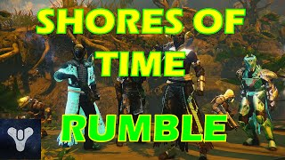 Destiny Rumble Strategy Shores of Time Crucible Gameplay