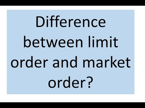 Difference between buy limit and buy stop in forex