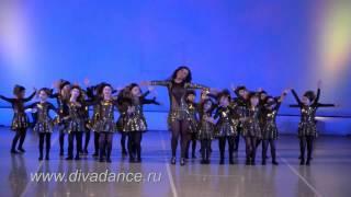 Маленькие звезды Детская современная хореография детский танец Диваданс