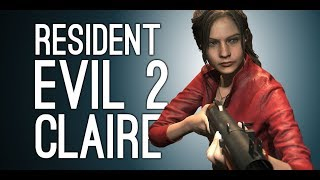 Resident Evil 2 Remake Gameplay: Claire! Lickers! Mr X! - Let