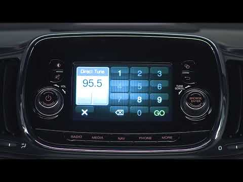 Uconnect 3/3 Nav with 5-inch Display- Radio and media connections for 2018 Fiat 500e