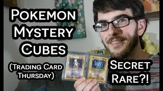 TCG Thursday: Opening Pokemon Mystery Cubes & Crimson Invasion Packs