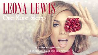 Leona Lewis - One More Sleep (Letra en Español)