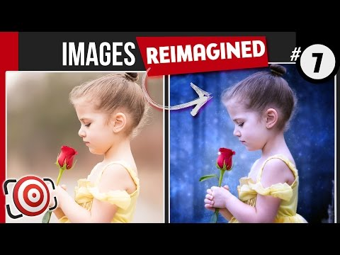 Photo Critique - Beauty & The Beast inspired composite of a 4yr old Belle - Improve Your Photography