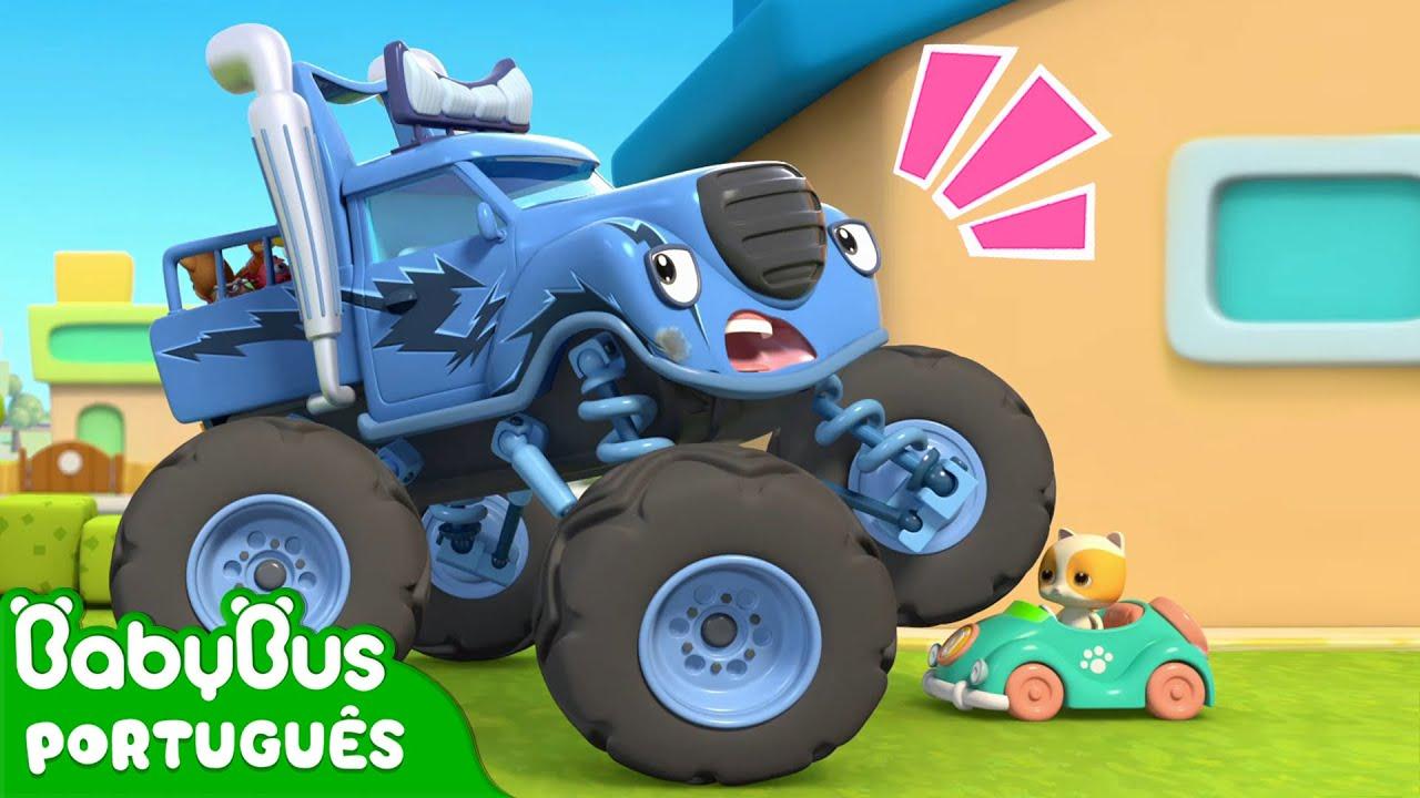 Ops! Que Bagunça, Bagunceiro! 😳 | Super Carro e Gatinho | Música Infantil | BabyBus Português