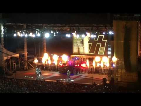 KISS - Detroit Rock City -Opening in Springfield, IL 08-17-2016