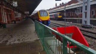 Trains at Nottingham MML (HST Spotter and EMT Trainspotter) 2/4/16