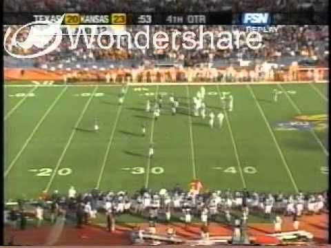 "Texas vs Kansas 2004 ""4th & 18"""