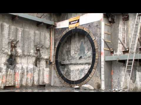 TTC - building a subway tunnel