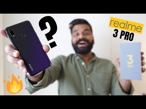 """Realme 3 Pro Unboxing & First Look + GIVEAWAY - """"The Real Pro"""" 🔥🔥🔥"""