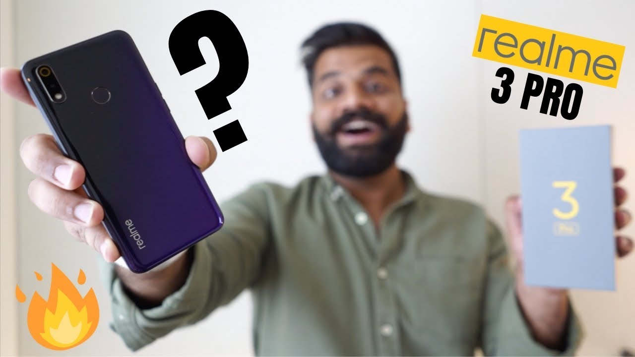 Realme 3 Pro Unboxing & First Look + GIVEAWAY -