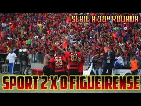 SÉRIE A 2016 - 38ª Rodada - Sport 2 x 0 Figueirense (Narração de Aroldo Costa)