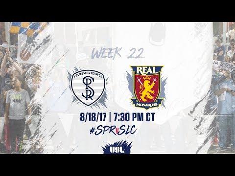 USL LIVE - Swope Park Rangers vs Real Monarchs SLC 8/18/17