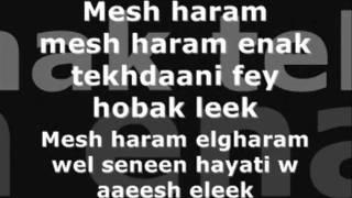 Enta eih Nancy Ajram whit lyrics wmv