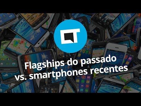 Smartphones recentes x Flagships antigos