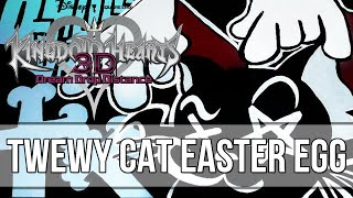 Kingdom Hearts Dream Drop Distance Easter Eggs - CAT Reference