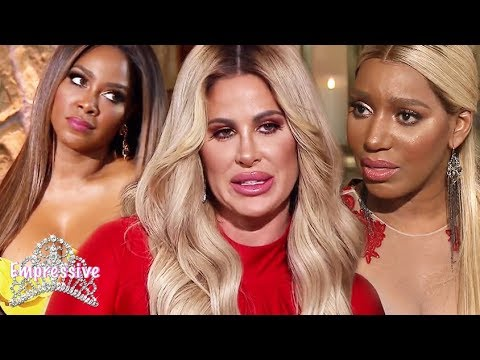 Kim Zolciak storms out of the RHOA Reunion | Kim's lies EXPOSED