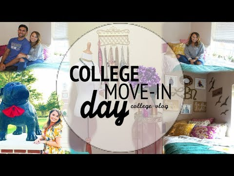 College MOVE-IN DAY! 2017