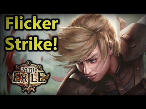 ♥ Path of Exile - Oro's Flicker Strike Raider