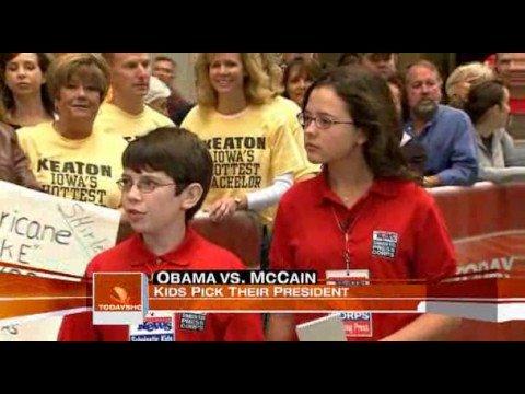 Obama vs Mccain , 2008 Election Polls Landslide.