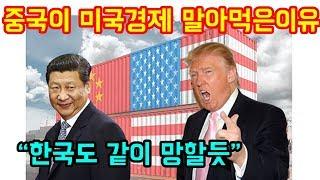 """중국이 미국경제를 완전히 말아먹은 이유 """"한국도 같이 희생될듯"""""""