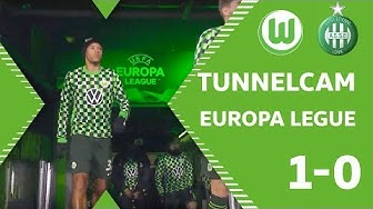Tunnelcam | VfL Wolfsburg - AS St. Etienne | Europa League