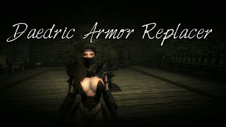 Daedric Armor Replacer SSE ( XB1 )