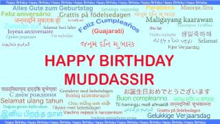 Muddassir   Languages Idiomas - Happy Birthday