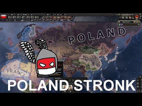 Poland Stronk - Hearts of Iron IV (Timelapse)