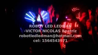 robot led ledman VICTOR