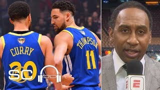 Steph, Klay need help if the Warriors are going to win the NBA Finals - Stephen A. | SC with SVP